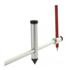 Compas trasare cu tija 50-100cm