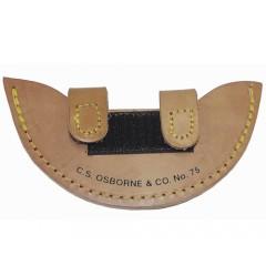 Teaca cutit special rotund pentru pielarie CS. Osborne  SUA