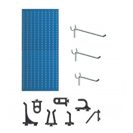 Panouri perforate verticale din metal pentru scule